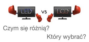Różnice między telewizorem LCD a LED