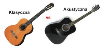 Różnice między gitarą klasyczną a akustyczną
