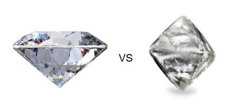 Różnice między brylantem a diamentem