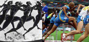 czym się róznią igrzyska starożytne od nowożytnich?